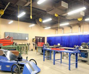 Cashton Middle/High School School Machine Shop Classroom