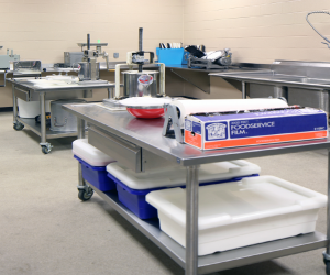 Cashton Middle/High School School Food Processing Classroom