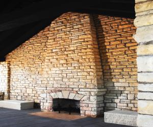 City of La Crosse Grandad Bluff Park Pavilion Fireplace