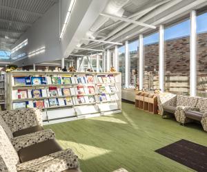 City of Viroqua Mcintosh Memorial Library Reading Space