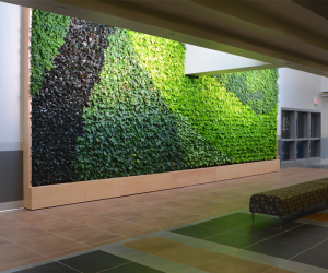 WTC Integrated Technology Center Green Wall