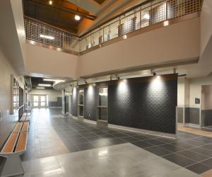 WTC Integrated Technology Center First Floor Hallway