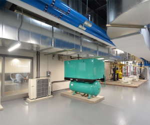 WTC Integrated Technology Center Mechanical Training Room