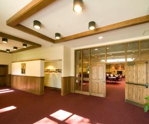 Blessed Sacrament Parish Gathering Space Entrance