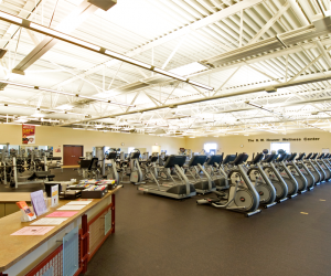 R.W. Houser Family YMCA Cardio Equipment