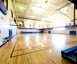 R.W. Houser Family YMCA Main Gymnasium