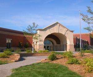 R.W. Houser Family YMCA Main Entrance