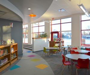 Northside Elementary School Bay Classroom