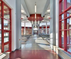 Northside Elementary School Lunch Room Corridor
