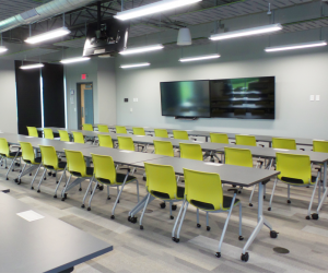 Dynamic Recycling Expansion Conference & Training Room