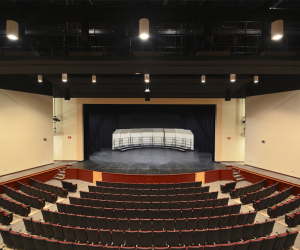 Westby Area School District - Community Performing Arts Center - Main Stage (Aerial View)