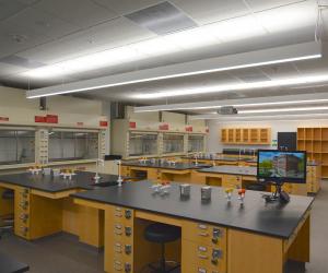 University of Wisconsin - La Crosse - Prairie Springs Science Center - Lab 1