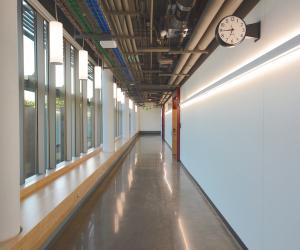 University of Wisconsin - La Crosse - Prairie Springs Science Center - Hallway