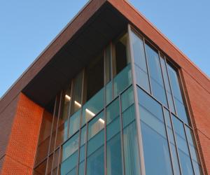 University of Wisconsin - La Crosse - Prairie Springs Science Center - Evening Exterior 4