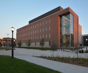 University of Wisconsin - La Crosse - Prairie Springs Science Center - Evening Exterior