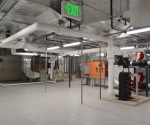 University of Wisconsin - La Crosse - Prairie Springs Science Center - Mechanical Penthouse