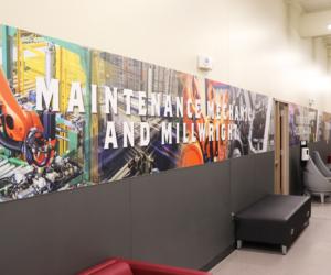Western Technical College - Apprenticeship & Training Center - Hallway 2