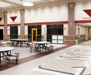 Holmen High School Addition & Renovation - Commons Area 1