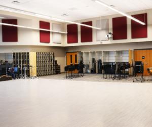 Holmen High School Addition & Renovation - Band Room